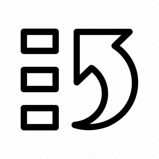 bottom, change, list, move, rearrange, reorder, top icon