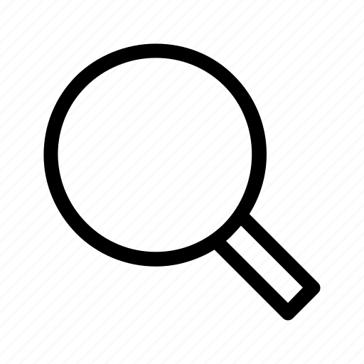 find, magnify, magnifying glass, search icon