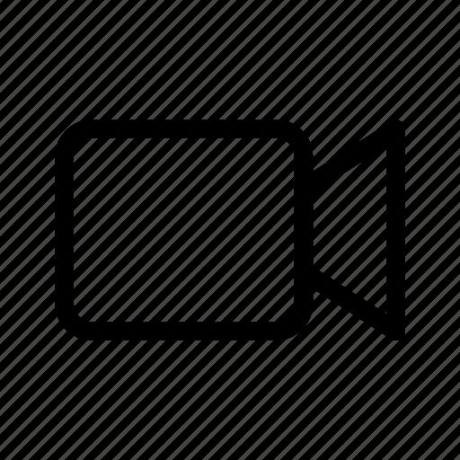 cinema, facetime, film, movie, record, video, video camera icon