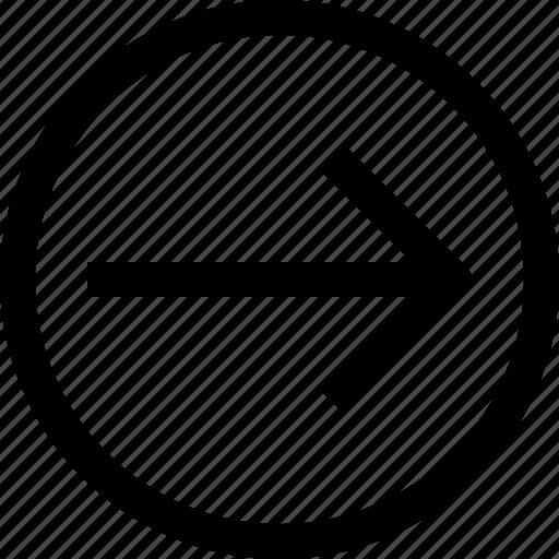 app, arrow, essential, right, ui, ux, web icon