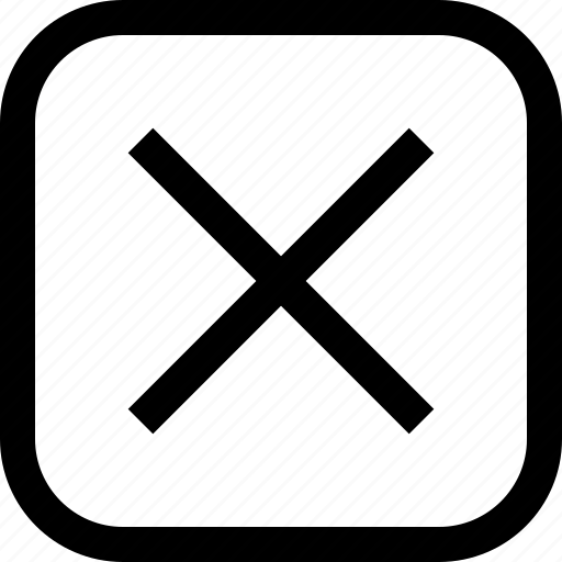 app, essential, remove, ui, ux, web icon