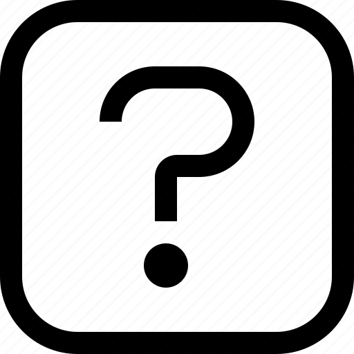 app, essential, question, ui, ux, web icon