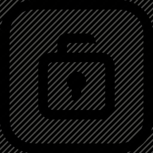 app, essential, security, ui, ux, web icon