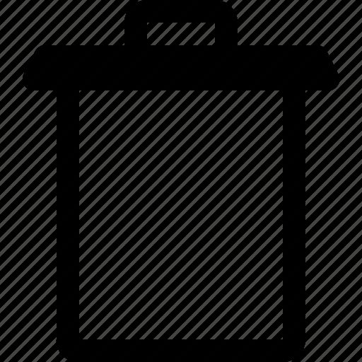 app, essential, trash, ui, ux, web icon