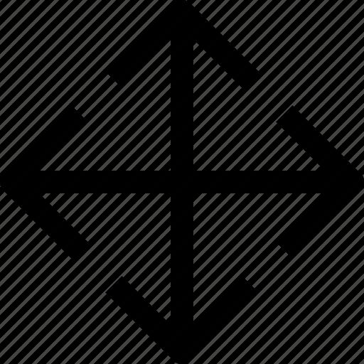 app, arrow, essential, ui, ux, web icon