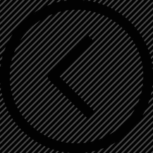 app, arrow, essential, left, ui, ux, web icon