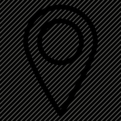destination, direction, location, map, navigation, pin icon