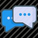 message, chat, communication, interaction, talk, conversation, network