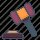 auctions, gavel, judge, hammer, legal, bid, bidding