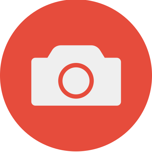 camera, capture, device, photo, play icon