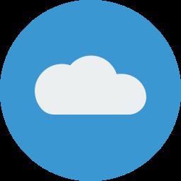 cloud, sky, storage, upload icon