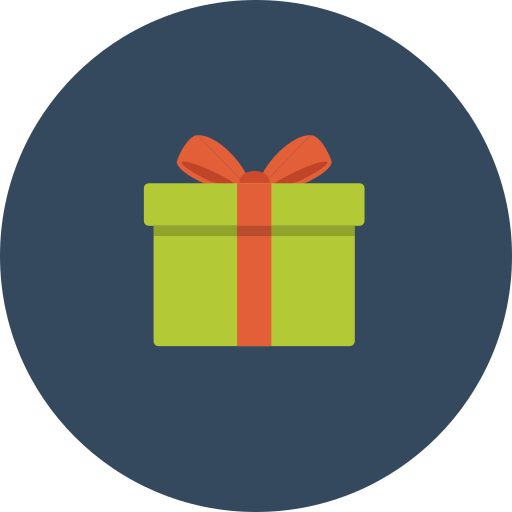 feature, gift, packet, surprise icon