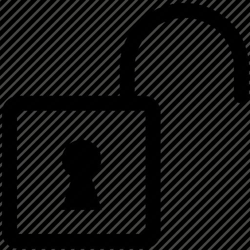 lock, locked, open, safety, security, unlock, unlocked icon