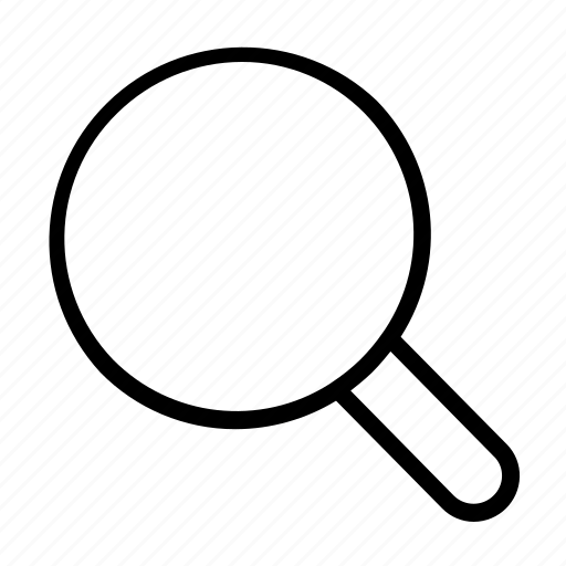 essential, find, magnifier, search icon