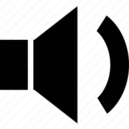 low, multimedia, music, sound, speaker, volume icon