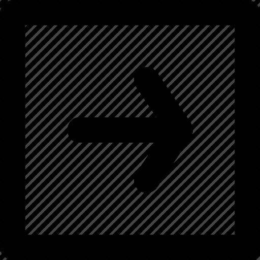 arrow, next, play, right icon