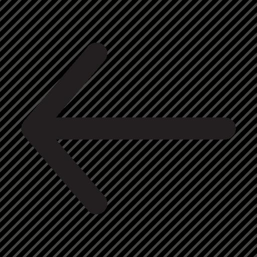 arrow, basic, essential, interface, left, ui icon