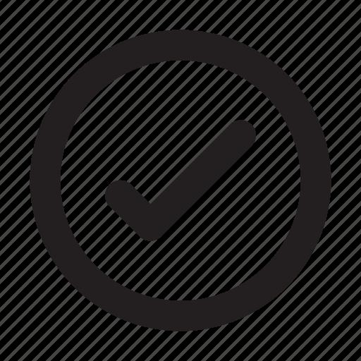basic, checklist, circle, essential, interface, ui icon