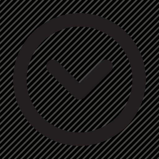 basic, chevron, circle, down, essential, interface, ui icon