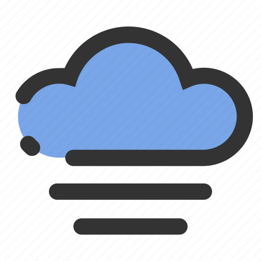 cloud, essential, sky, weather, wind icon
