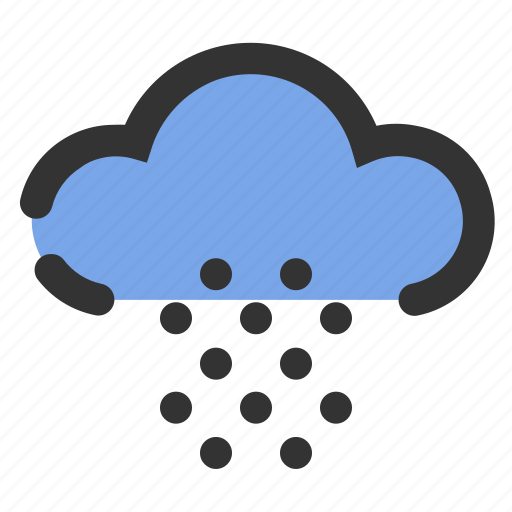 cloud, essential, snow, weather, winter icon