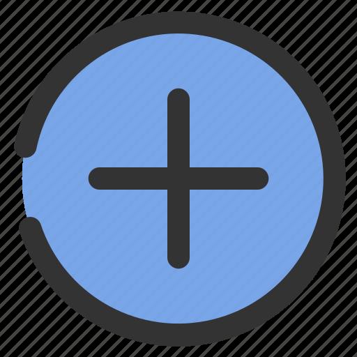 add, essential, file, insert, new icon