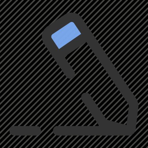 edit, essential, file, pencil, write icon