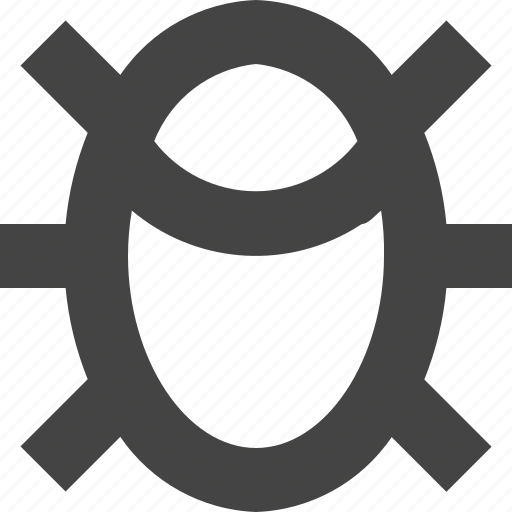 bug, control, development, quality, software icon