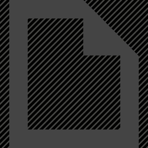 add, create, file, new icon