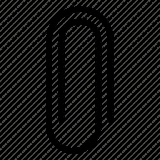 attachment, binder, clinch, clip, file, office, paper clip icon