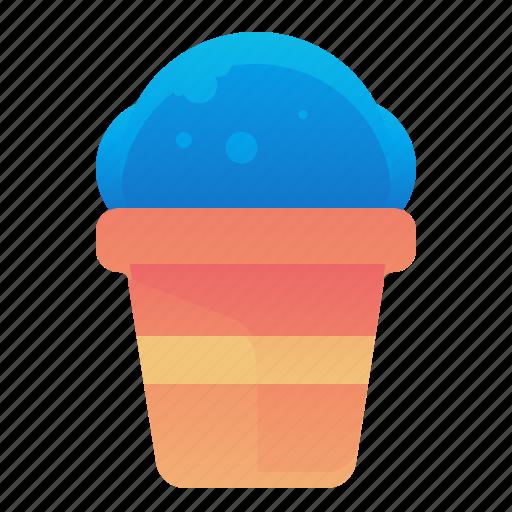 Cream, dessert, food, ice icon - Download on Iconfinder