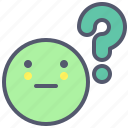answer, ask, confused, faq, question icon