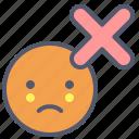 abort, cancel, deny, refuse, xmark icon