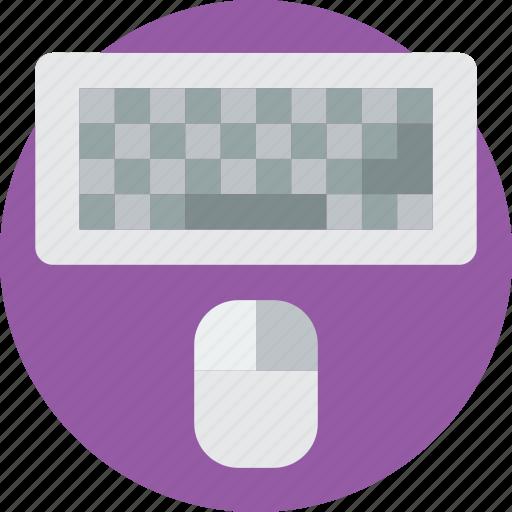computer, essentials, keyboard icon