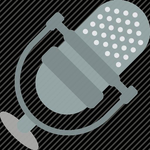 audio, communication, essentials, mic, microphone, sound icon