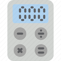 calculate, calculator, essential, math, sum icon