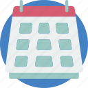 calander, date, essential, schedule icon