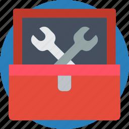 box, essential, tool icon