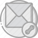 email, essentials, mail, settings icon