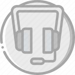communication, essentials, headset, help, phone icon