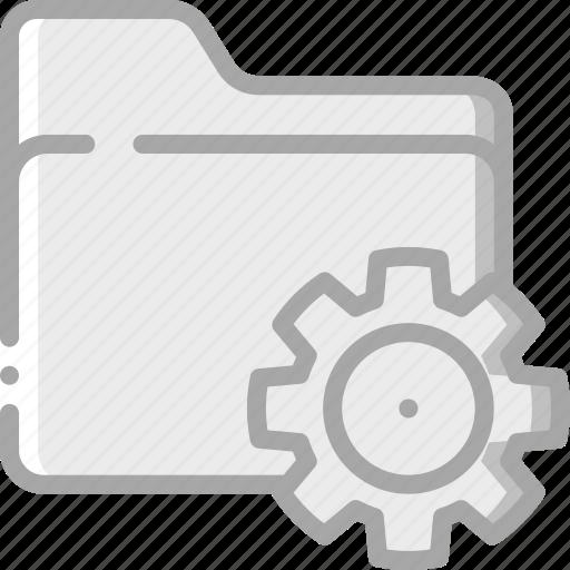 essentials, file, folder, settings icon