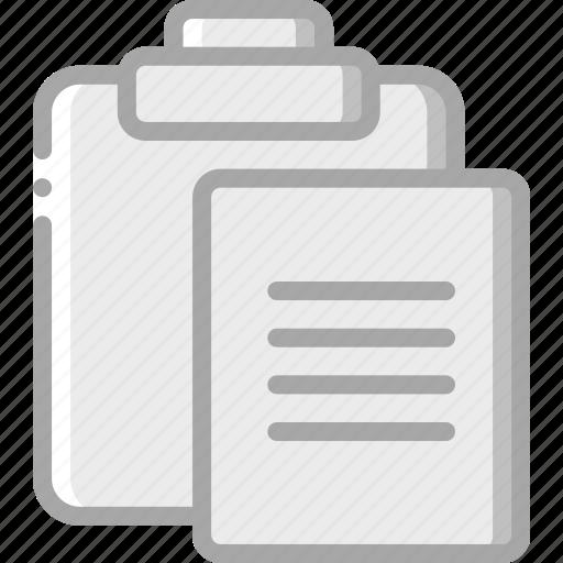 clipboard, copy, essentials icon