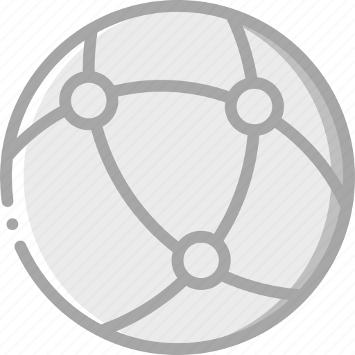 essential, globe, internet, net icon