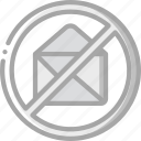 essential, internet, mail, net, spam icon