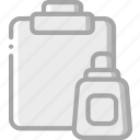 clipboard, essential, paste icon