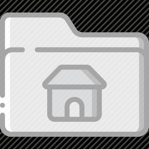 essential, file, folder, home icon