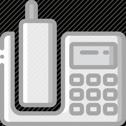 communication, deck, essential, phone, telephone icon