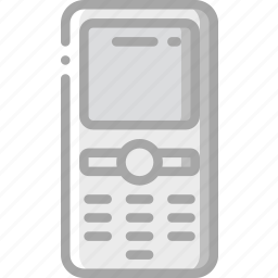 communication, essential, mobile, phone icon