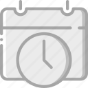 calendar, date, essential, schedule icon