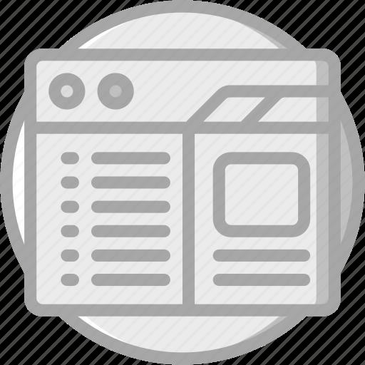 computer, essential, properties, window icon